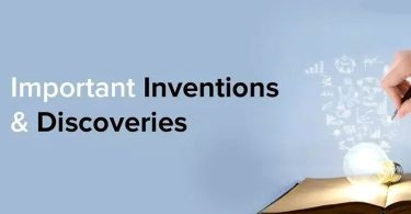 List of Important Inventions and Discoveries by Scientists