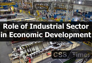 Role of Industrial Sector in Economic Development