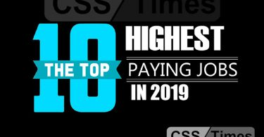 Top 10 Best Paying Jobs in Pakistan 2019