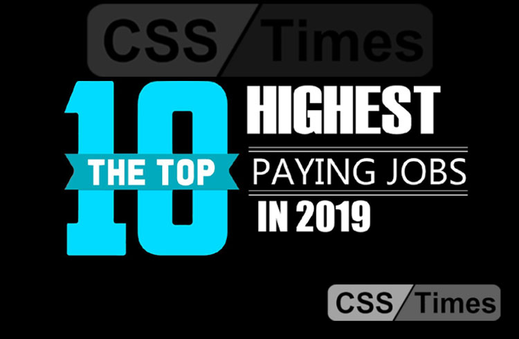 Top 10 Best Paying Jobs in Pakistan 2019