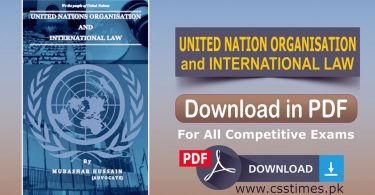 United Nation Organisation and International Law Book in PDF 1
