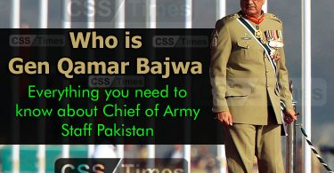 Who is General Qamar Javed Bajwa
