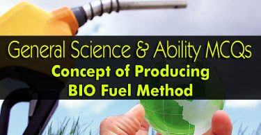 Concept of Producing BIO Fuel Method