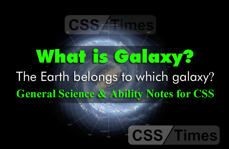 What is galaxy? The Earth belongs to which galaxy?