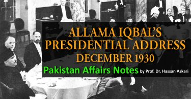 ALLAMA IQBAL's Presidential Address December 1930