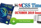 HSM CSS Times October 2019 Download in PDF