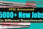 PPSC Announced 500+ New Jobs