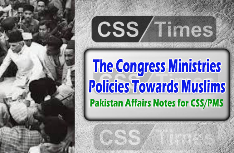 Pakistan Affairs Notes for CSS/PMS
