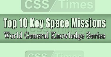 World General Knowledge Series