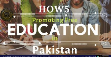 HOW5 an evolutionary step towards Academy Free Pakistan