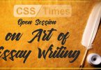 Learn the art of Essay Writing by Waqar Hassan CSP