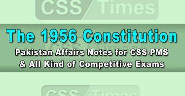 The 1956 Constitution