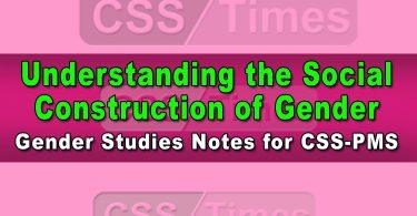 Understanding the Social Construction of Gender