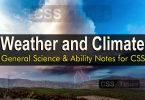 Weather and Climate | General Science & Ability Notes