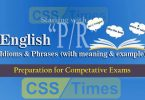 "English Grammar: Idioms And Phrases (""Set-P, R"") 