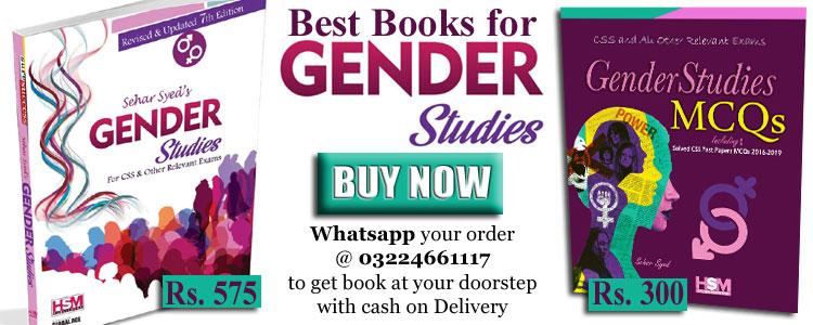 HSM Gender Studies Book for CSS