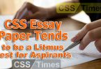 CSS Essay Paper Tends to be a Litmus Test for Aspirants