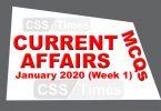 January 2020 (Week 1)