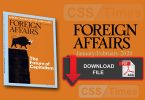Foreign Affairs (January/February 2020) Volume 99 | Download in PDF