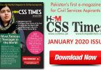 HSM CSS Times (January 2020) E-Magazine | Download in PDF Free