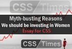 Myth-busting Reasons : We should be investing in Women