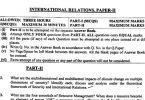 International Relations Paper II