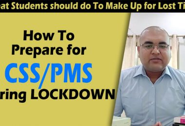 How To Prepare for CSS PMS during Lockdown