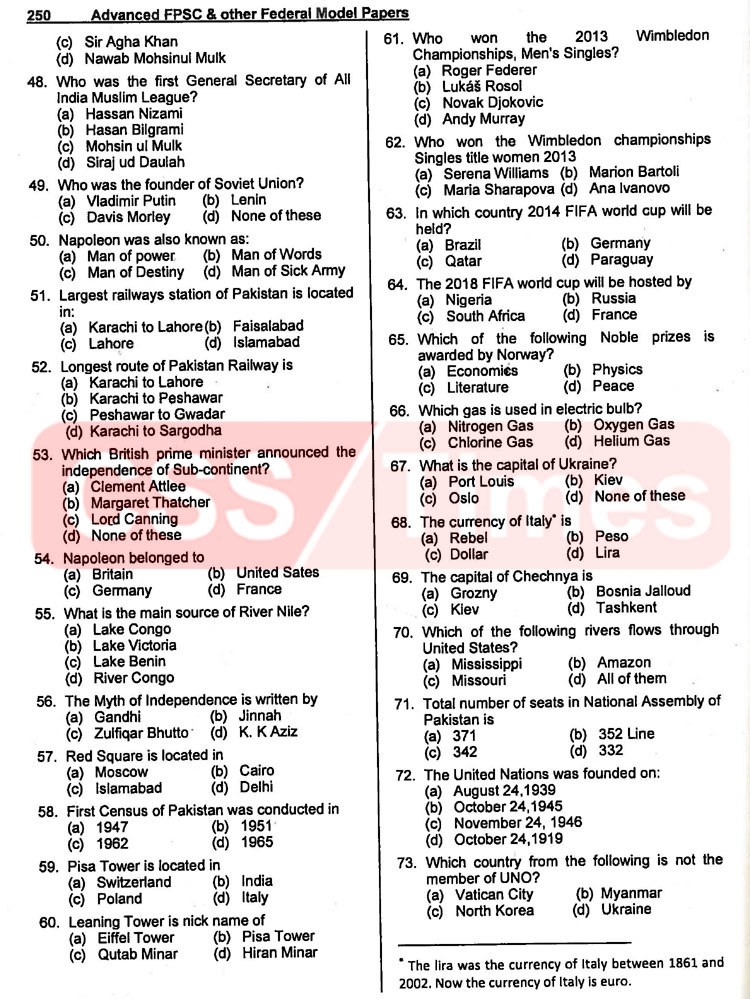 Appraising/Valuation Officer Federal Board of Revenue (2015) (FPSC FBR Past Papers)