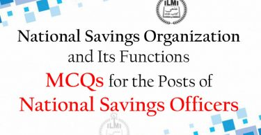 National-Savings-Organization-and-Its-Functions-MCQs-for-National-Savings-Officers-Posts