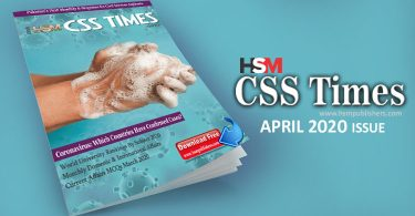 CSS Times Magazine April 2020