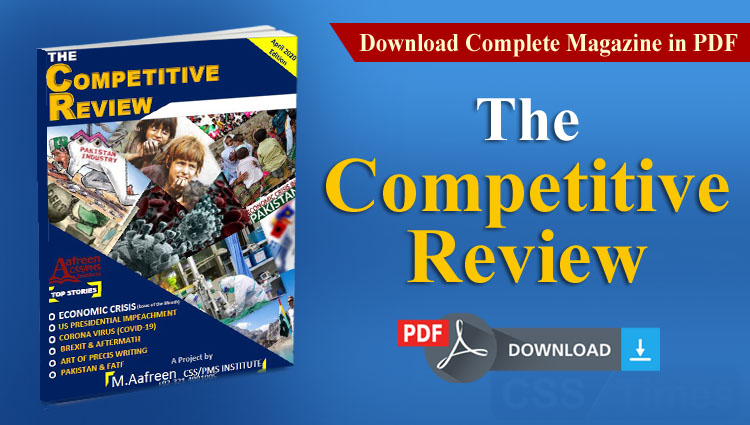 """""""The Competitive Review"""" 