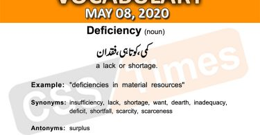 Daily DAWN News Vocabulary with Urdu Meaning (08 May 2020)