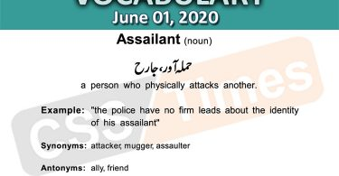 Daily DAWN News Vocabulary with Urdu Meaning (01 June 2020)