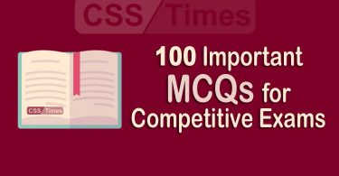 100 Important MCQs for all type of Competitive Exams