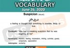 Daily DAWN News Vocabulary with Urdu Meaning (26 June 2020)