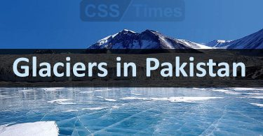 Glaciers in Pakistan | World General Knowledge
