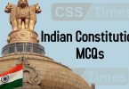 Indian Constitution MCQs | World General Knowledge