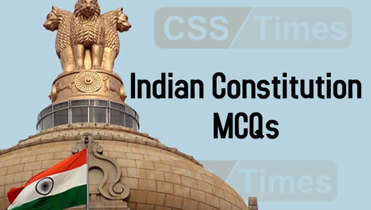 Indian Constitution MCQs   World General Knowledge