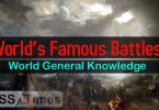 World's Famous Battles | World General Knowledge