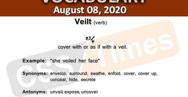 Daily DAWN News Vocabulary with Urdu Meaning (8 August 2020)