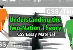 Understanding the Two-Nation Theory | CSS Essay Material