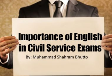Importance of English in Civil Service Exams