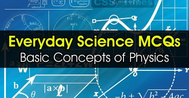 Everyday Science MCQs (Basic Concepts of Physics)