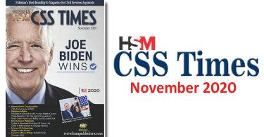HSM CSS Times (November 2020) E-Magazine | Download in PDF Free