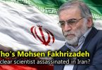 Who's Mohsen Fakhrizadeh, nuclear scientist assassinated in Iran?