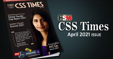 HSM CSS Times (April 2021) E-Magazine | Download in PDF Free