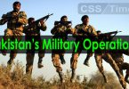 Important Pakistan's Military Operations