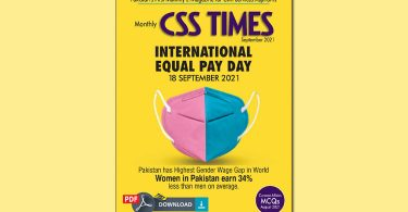 CSS Times (September 2021) E-Magazine   Download in PDF Free